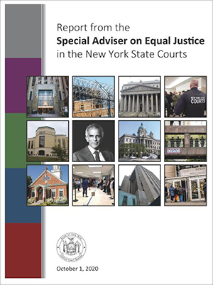 Special Adviser on Equal Justice, Report Cover