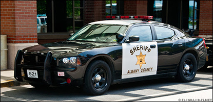 Albany County Sheriff Department Patrol Car