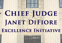 Chief Judge Janet DiFiore, Excellence Initiative