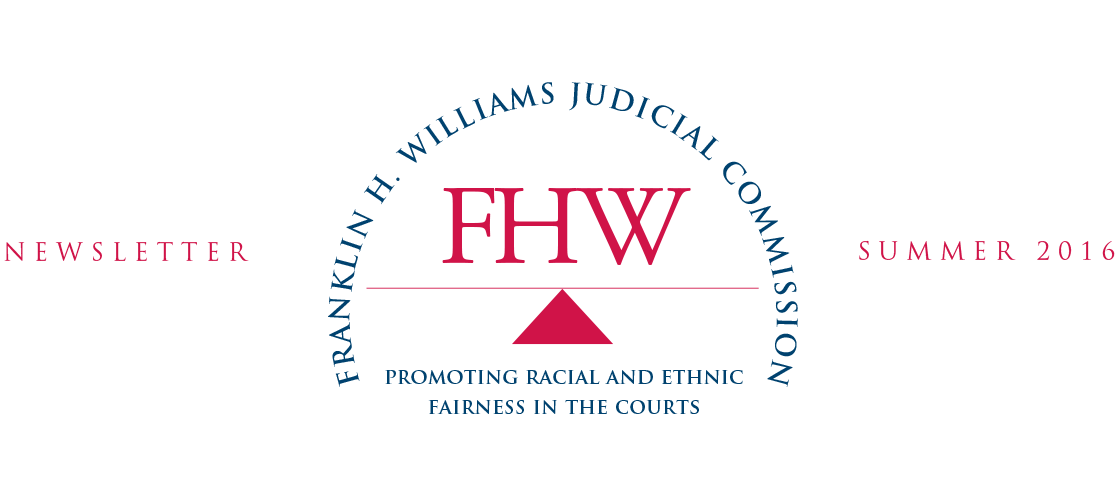 Franklin H. Williams Judicial Commision - Promoting Racial and Ethical Fairness in the Courts